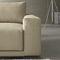 modular sofa / contemporary / leather / 3-seater