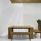 garden bench / contemporary / teak / by Rodolfo Dordoni