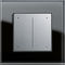 light dimmer switch / sliding button / plastic / contemporary
