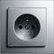 power socket / wall-mounted / contemporary
