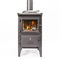wood heating stove / central / steel / cast ironBakeheartEsse