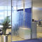 fixed partition / glazed / for offices
