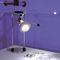 ceiling-mounted spotlight / indoor / halogen / round