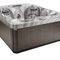 above-ground hot tub / square / 4-seater / outdoor