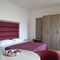 wooden wardrobe / with swing doors / for hotel