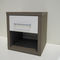 hotel table / contemporary / wooden / square