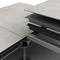 metal raised access floor / cement / high-resistance / radiant