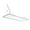 hanging light fixture / LED / round / rectangular