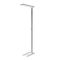 floor-standing lamp / contemporary / aluminum / acrylic glass