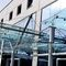 entrance canopy / for commercial buildings / glass