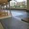 metal raised access floor / indoor / perforated