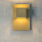 contemporary wall light / aluminum / LED / halogen