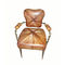 classic chair / upholstered / with armrests / fabric