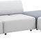 modular sofa / contemporary / fabric / for public buildings