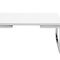 contemporary coffee table / steel / rectangular / square
