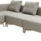 contemporary ottoman / fabric / indoor / for public spaces
