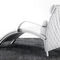 contemporary chaise longue / leather / cowhide / for public buildings