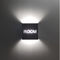 contemporary wall light / steel / LED / rectangular