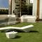 original design sun lounger / polyethylene / garden / 100% recyclable