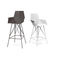 contemporary bar chair / stainless steel / outdoor