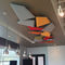 ceiling acoustic panel / wall-mounted / for interior / polystyrene