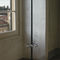 floor coat rack / contemporary / stainless steel / aluminum