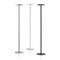 floor coat rack / contemporary / powder-coated steel / polished stainless steel