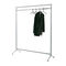 contemporary clothes rack / chrome steel / painted steel / aluminum