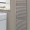 hot water towel radiator / metal / contemporary / bathroom