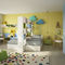 yellow children's bedroom furniture set / lacquered wood / unisex