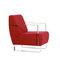 modular sofa / contemporary / fabric / steel