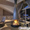 wood-burning fireplace / gas / contemporary / closed hearth