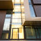 aluminum profile / for facade / for curtain walls / for mullions and transoms