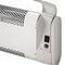 wall-mounted fan heater