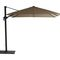 side post parasol / aluminum