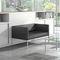 low filing cabinet / wooden / wood veneer / modular