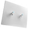 light switch / toggle / recessed / Corian®