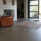 waxed concrete flooring
