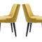 contemporary chair / upholstered / custom / fabric