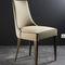 contemporary restaurant chair / upholstered / fabric / beech