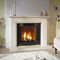gas fireplace / traditional / closed hearth / built-in