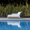 traditional daybed / fabric / synthetic fiber / garden