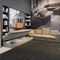 modular sofa / contemporary / fabric / with storage compartment