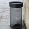 galvanized steel trash can / anti-terrorism / contemporary