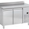 undercounter freezer / with drawer / commercial / stainless steel