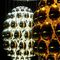 contemporary chandelier / glass / incandescent