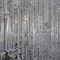 contemporary chandelier / crystal / blown glass / stainless steel