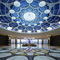 contemporary chandelier / crystal / stainless steel / LED