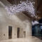 contemporary chandelier / blown glass / metal / LED