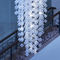 original design ceiling light / glass / blown glass / LED
